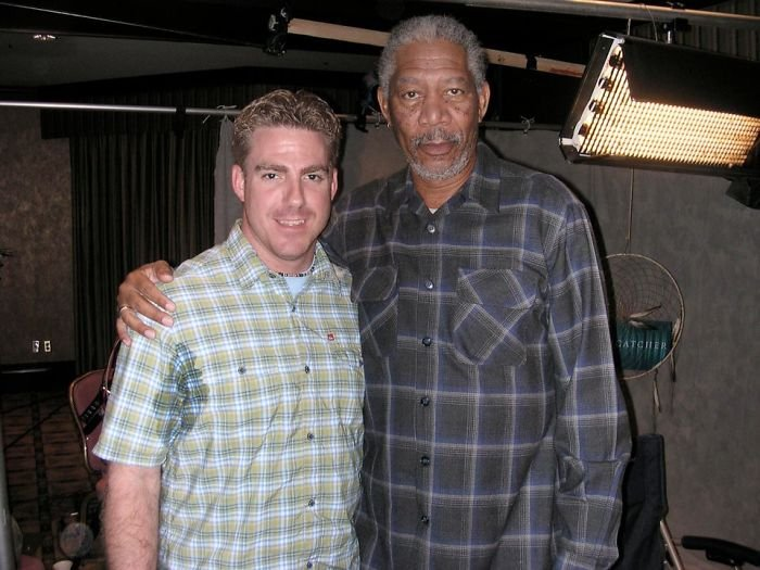 The Time I Was A Little Nervous To Meet Morgan Freeman