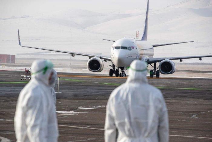 Coronavirus, United States, Arrival Airports