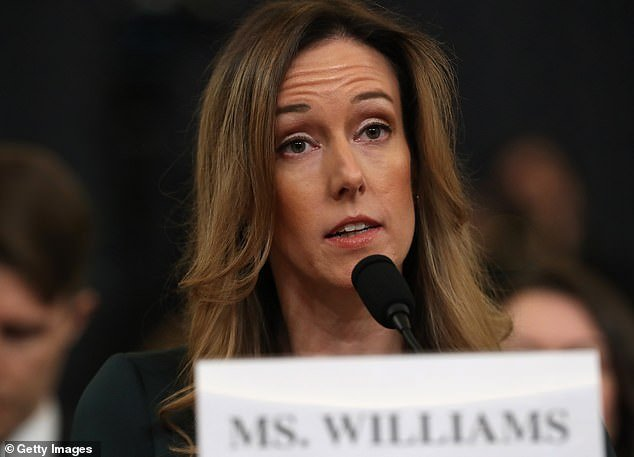 Jennifer Williams, who worked for Mike Pence and testified in the House impeachment inquiry, left the vice president