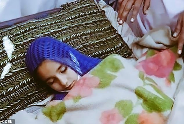 After her body was found, her family and other locals took to the streets and formed a roadblock to demand justice for Madiha