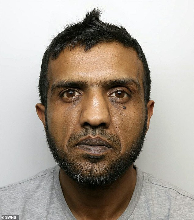 Banaras Hussain, 39, of Shipley, was jailed for nine and a half years after being found guilty of raping one of the schoolgirls