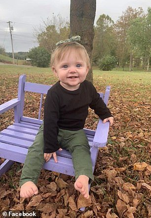 An AMBER Alert was issued on Wednesday in Tennessee for 15-month-old Evelyn Mae Boswell