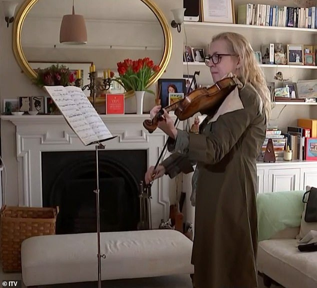 Mrs Turner, a musician, was woken half-way through complex six-hour brain surgery, handed the violin and told to play scales. The approach allowed surgeons to identify and therefore avoid the areas of the brain that are activated while she plays