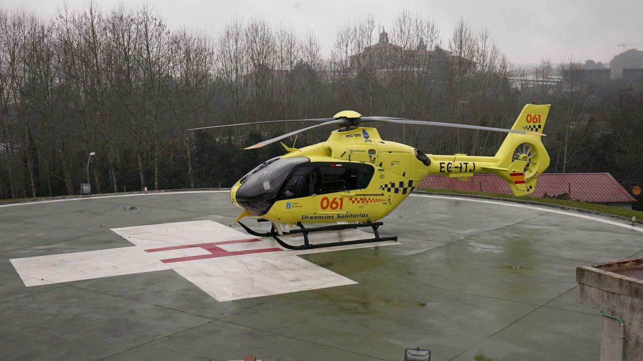 Resultado de imagen de helicóptero urgencias