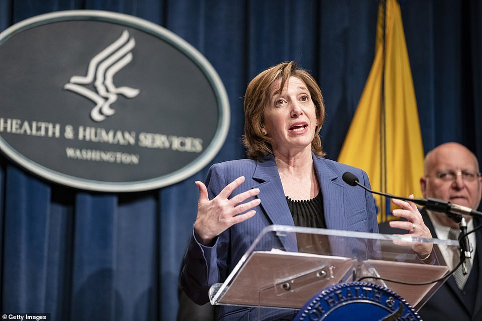 Dr Nancy Messonier (pictured) of the CDC says the public needs to prepare if the coronavirus spreads in the US