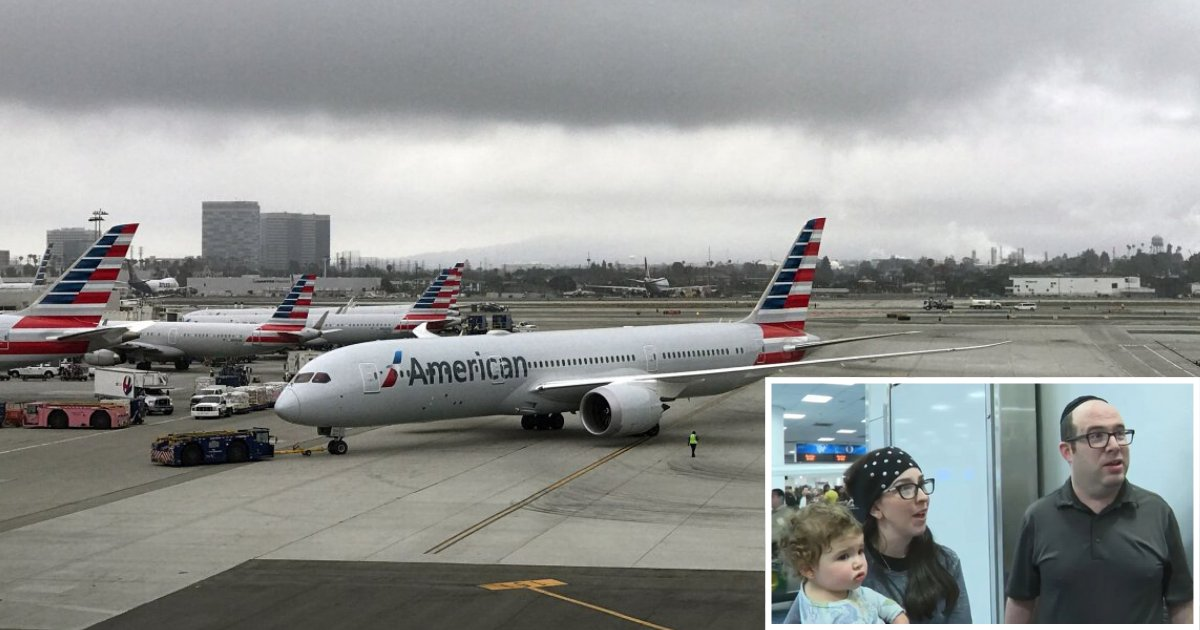 2 6.png?resize=1200,630 - A Jewish Couple Was Asked to Deplane Because American Airlines Claims That They Were Stinking