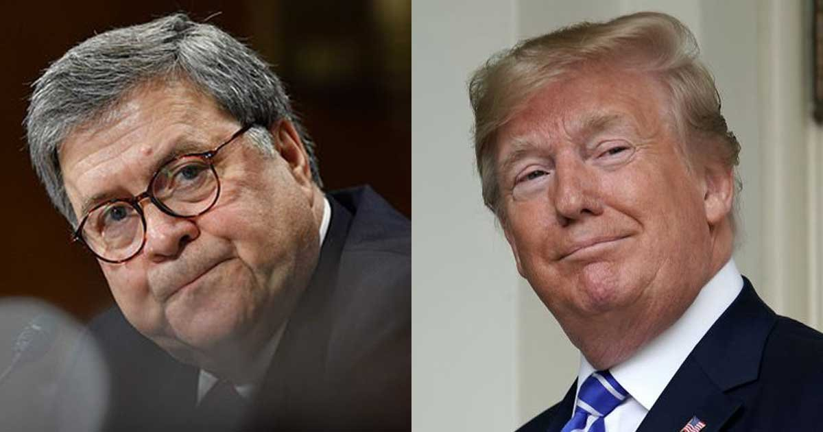 2 panel 20.jpg?resize=1200,630 - Bill Barr Considers Quitting On President Trump If He Keeps Tweeting About Justice Department Cases