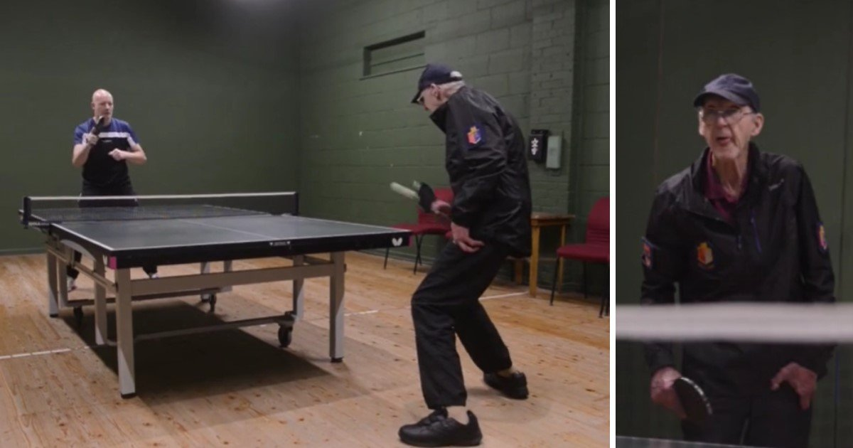 3 114.jpg?resize=412,232 - 80-Year-Old Coach Loves Table Tennis So Much He Didn't Even Get Married