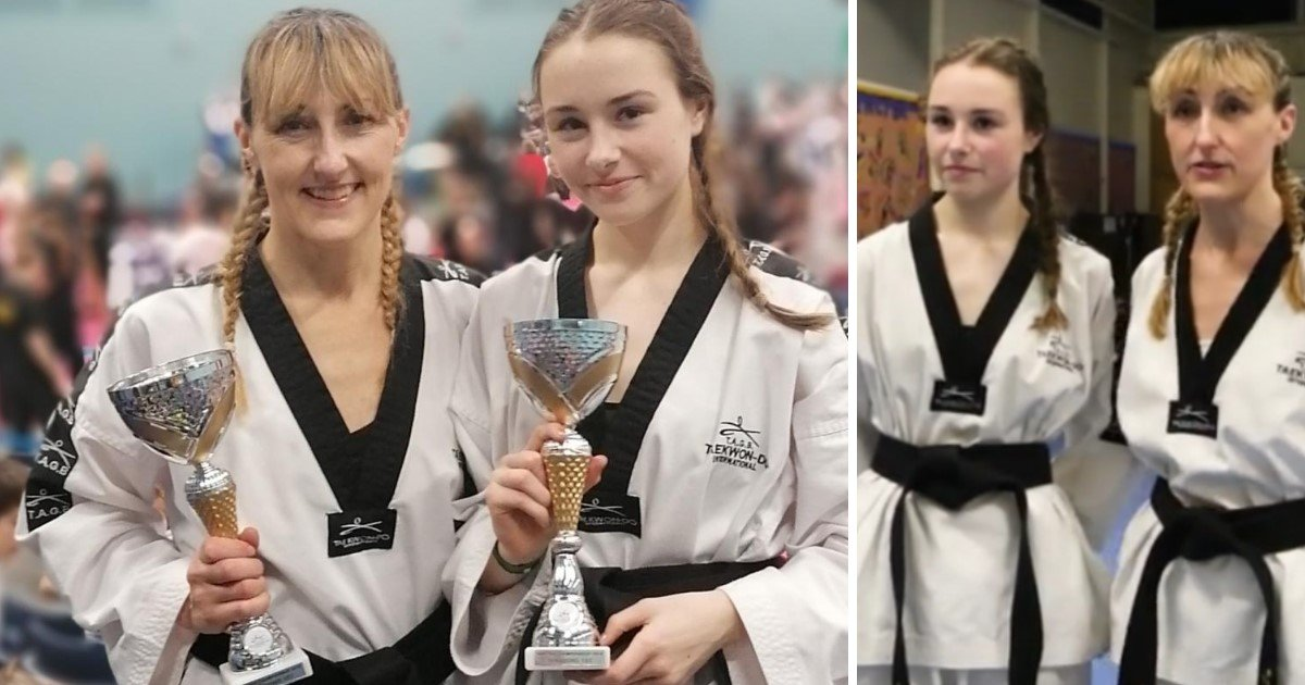 3 26.jpg?resize=1200,630 - A Young Girl And Her Mom Both Won Gold In Taekwondo On The Same Day