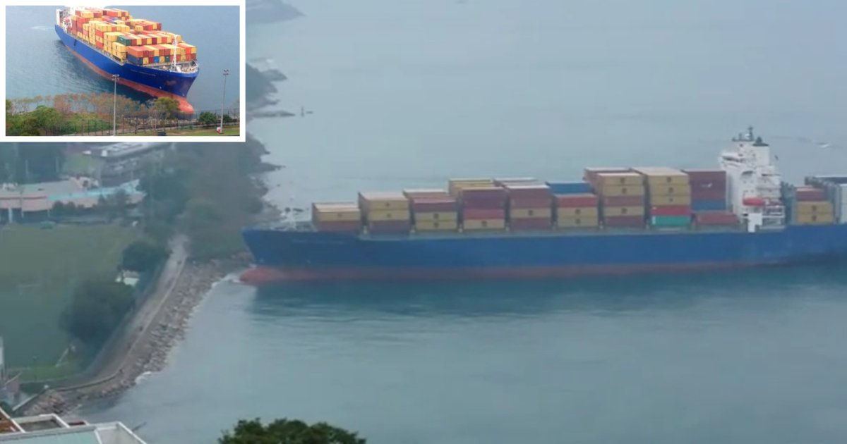 3 49.png?resize=1200,630 - Huge Container Ship Failed To Control Its Speed While Moving Towards Land in Hong Kong