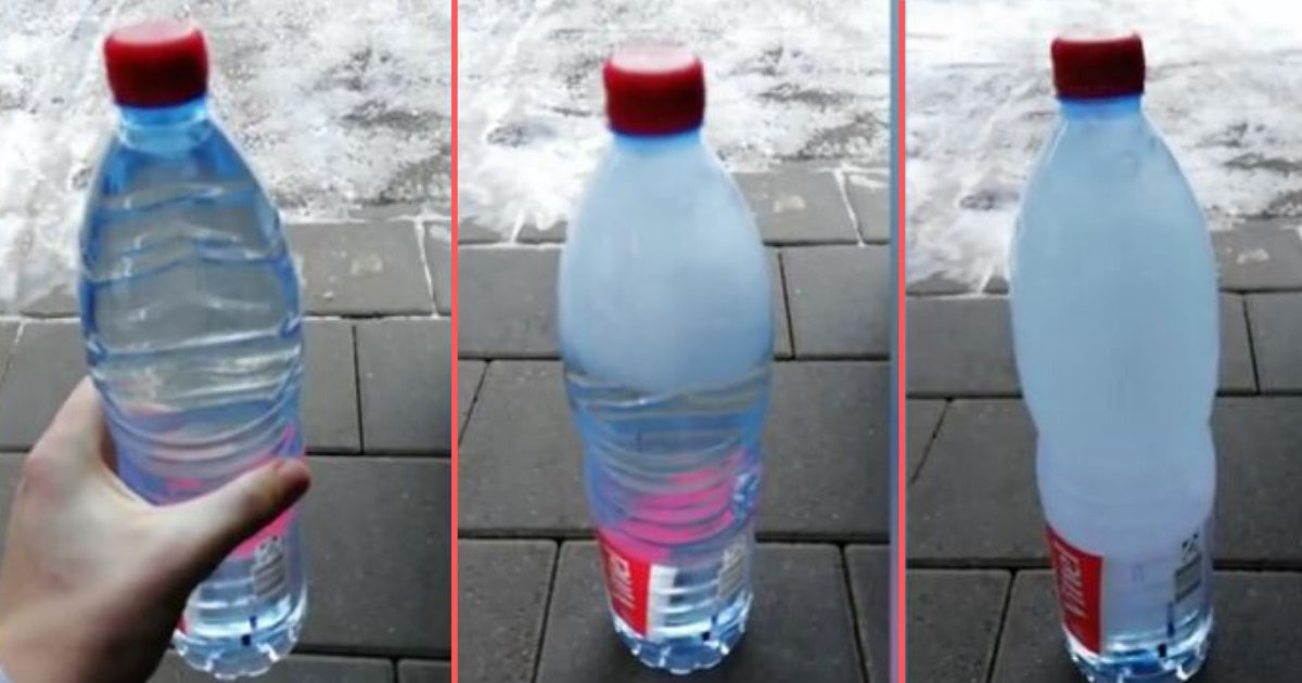 3 5.png?resize=1200,630 - Astounding Moment Shows Water In A Bottle Freezing Almost Instantly