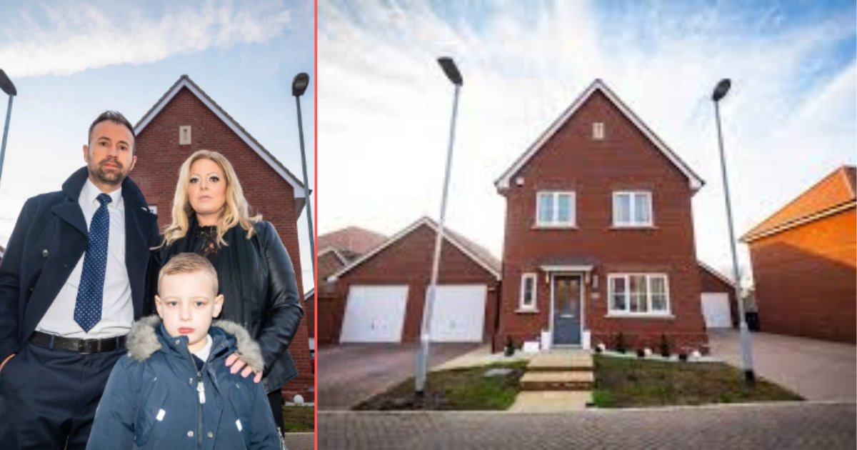 4 7.png?resize=1200,630 - Family Was Extremely Upset As Two Wrongly Placed Lampposts Appeared In Their Garden