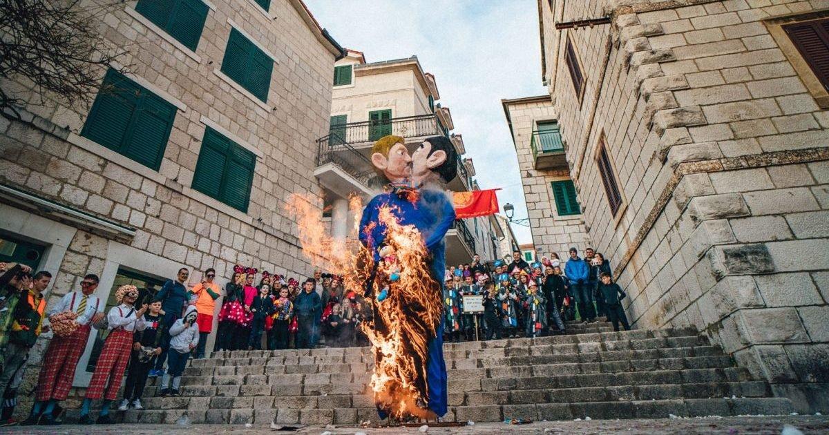 87463060 10157157756814639 2348765039764176896 o 1280x853 e1582656371719.jpg?resize=300,169 - Homophobie : L'effigie d'un couple de même sexe tenant un enfant incendiée lors d'un carnaval en Croatie