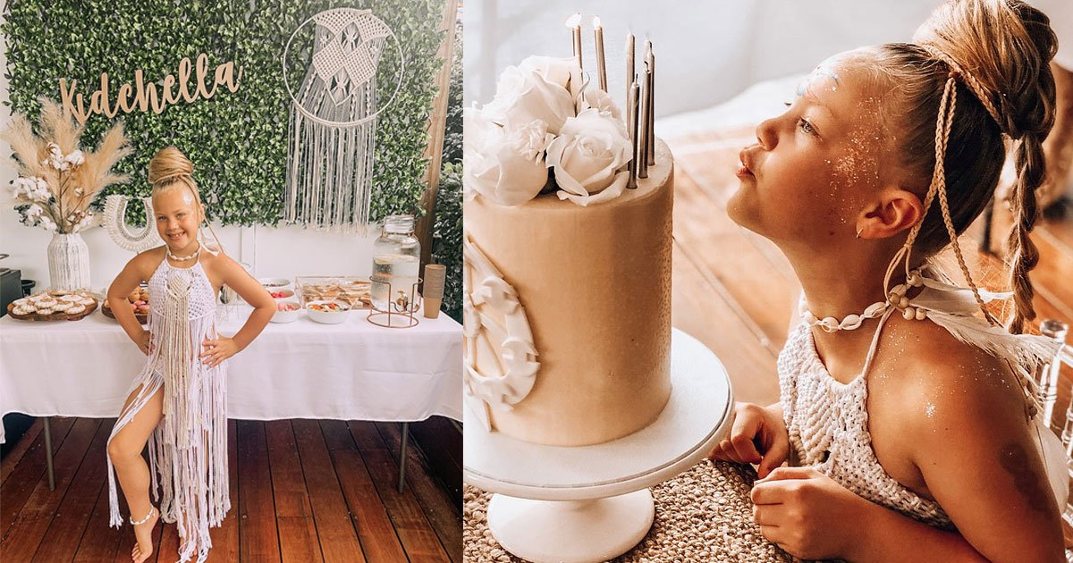 a mother organized a kidchella seventh birthday party for her daughter inspired by the iconic coachella music festival.jpg?resize=1200,630 - A Mother Organized A 'Kidchella' Birthday Party For Her Daughter Inspired By The Iconic Coachella Music Festival
