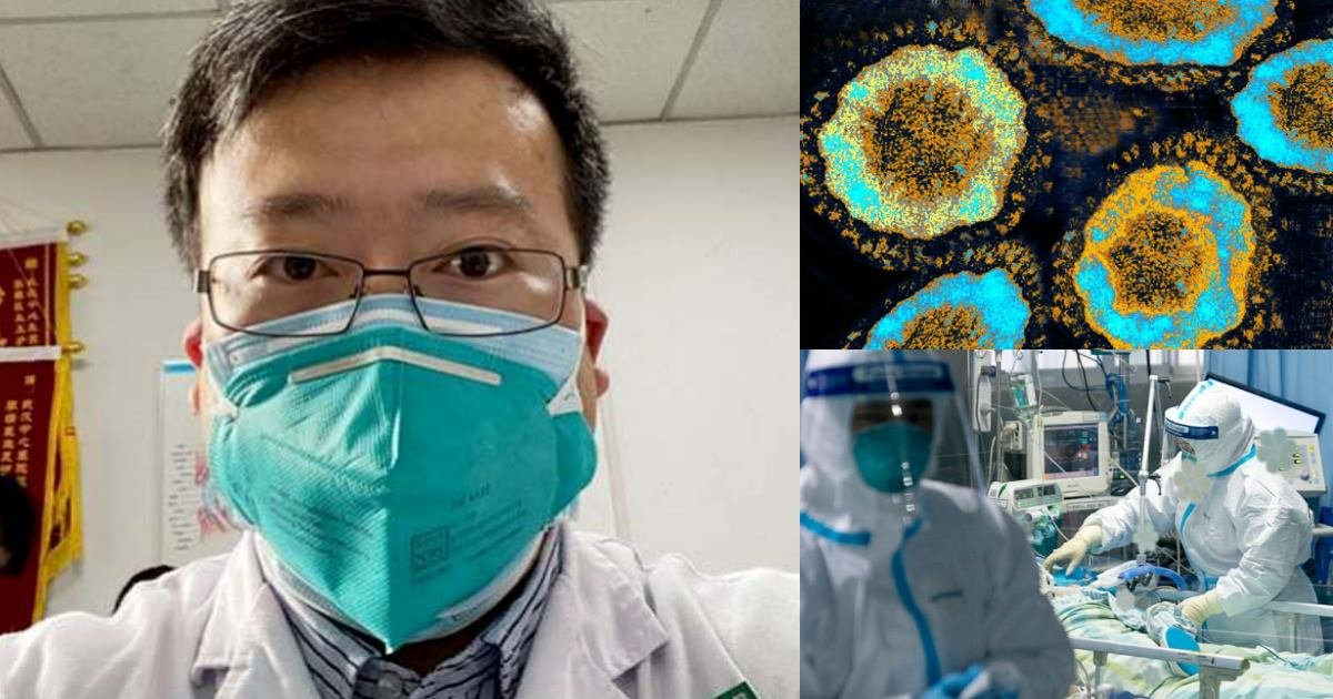 collagethummmmbbss.jpg?resize=412,275 - The Chinese Doctor Who Warned The Public About The Coronavirus, But Was Silenced, Has Died From The Illness