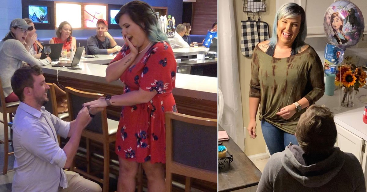 couple faked engagement free drinks.jpg?resize=412,232 - Couple Finally Got Engaged Six Months After Faking Their Engagement To Get Free Drinks