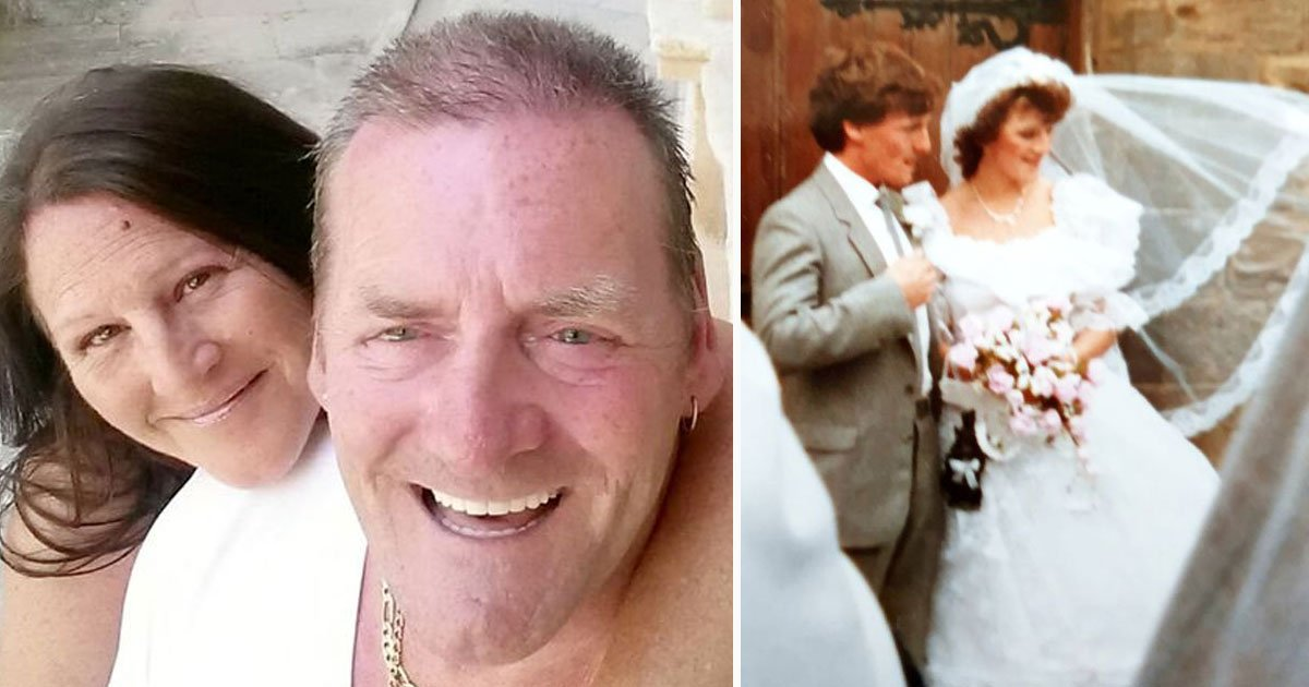 couple saw stolen wedding pictures after 35 years.jpg?resize=412,232 - Couple Finally Saw Their Stolen Wedding Pictures 35 Years After Getting Married