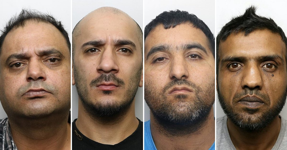 gang.png?resize=412,232 - Grooming Gang Jailed For More Than 55 Years For What They Did To Two Young Girls