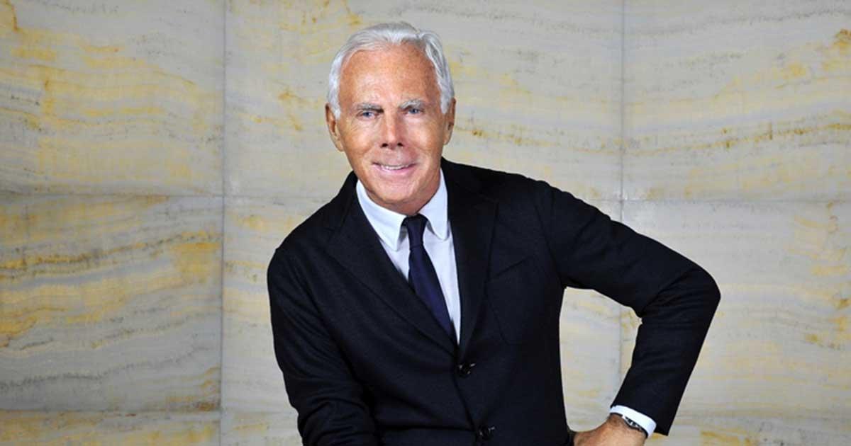 giorgio armani.jpg?resize=1200,630 - Giorgio Armani Sparks Controversy For Comparing Fashion Trends To Rape