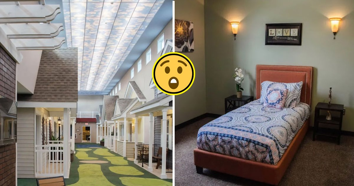 Nursing Home For The Elderly People Facing Mental Health Problems Broke Stereotypes In Their Designs Small Joys