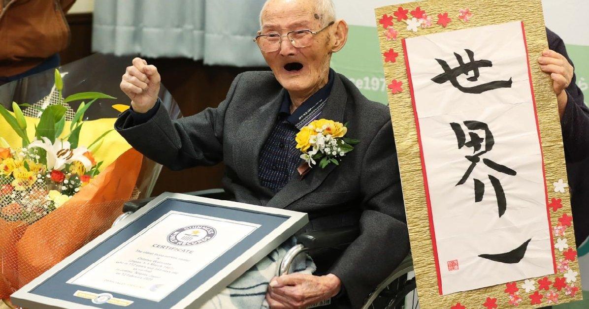 guiness.jpg?resize=300,169 - Japon: L'homme le plus vieux du monde vient de nous quitter à l'âge de 112 ans