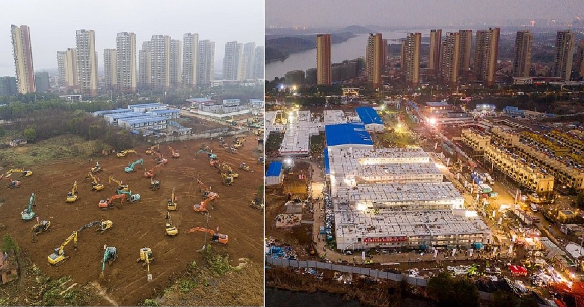 h4.jpg?resize=1200,630 - China's Massive 1,000-Bed Coronavirus Hospital Took Less Than Two Weeks To Build