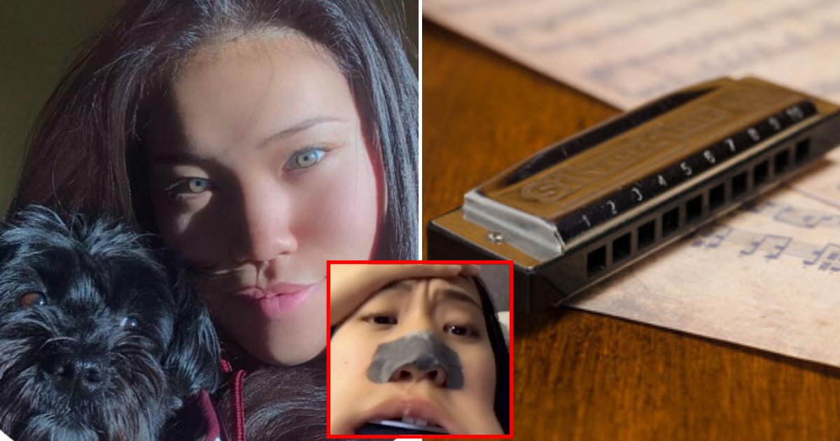harmonica6.png?resize=1200,630 - Student Rushed To Hospital After She Got An Entire Harmonica Stuck In Her Mouth