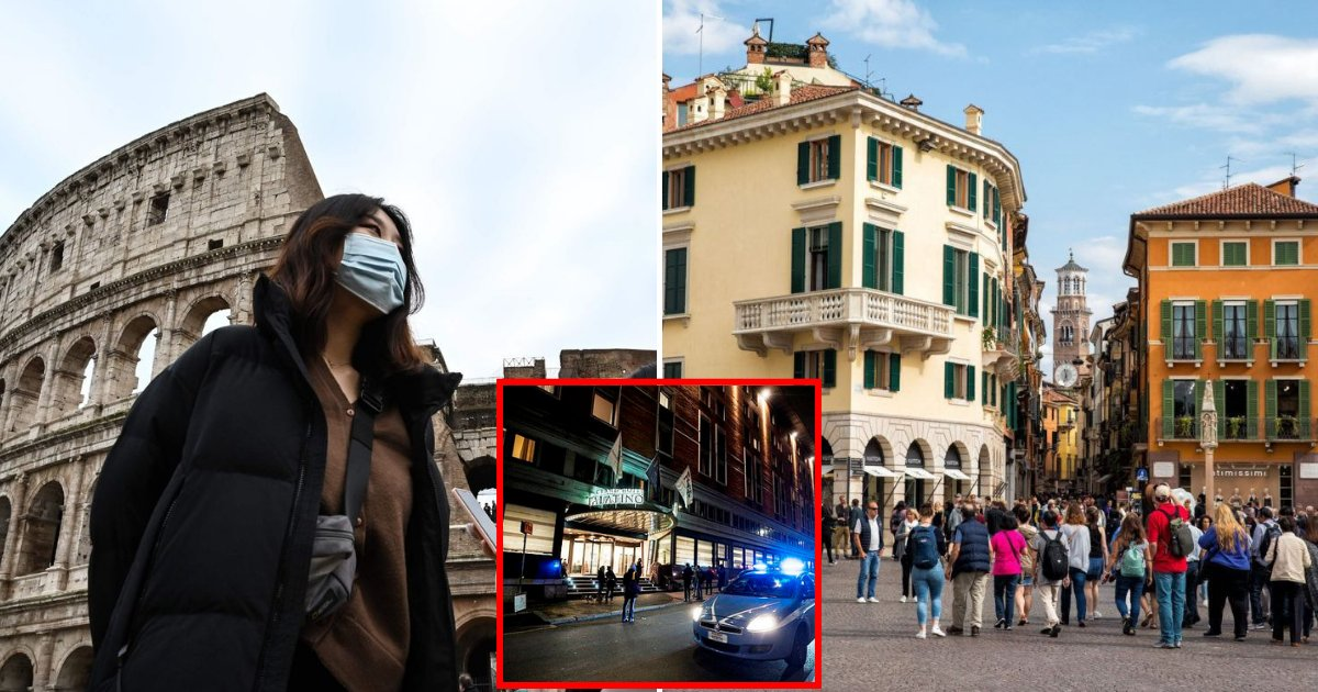 italy5.png?resize=1200,630 - Chinese Couple Who Tested Positive For Coronavirus In Italy Visited Rome, Verona, Milan And Parma Before They Were Quarantined