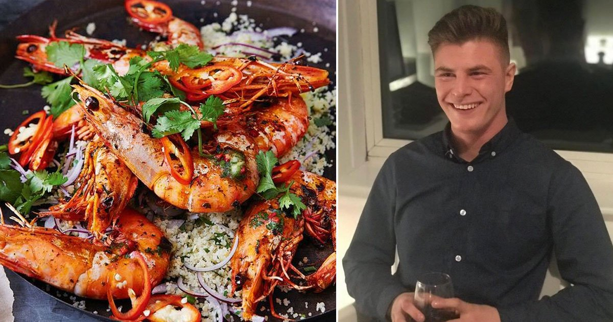 man died eating prawns chinese restaurant.jpg?resize=1200,630 - 19-year-old Died After Eating Prawns At A Chinese Restaurant