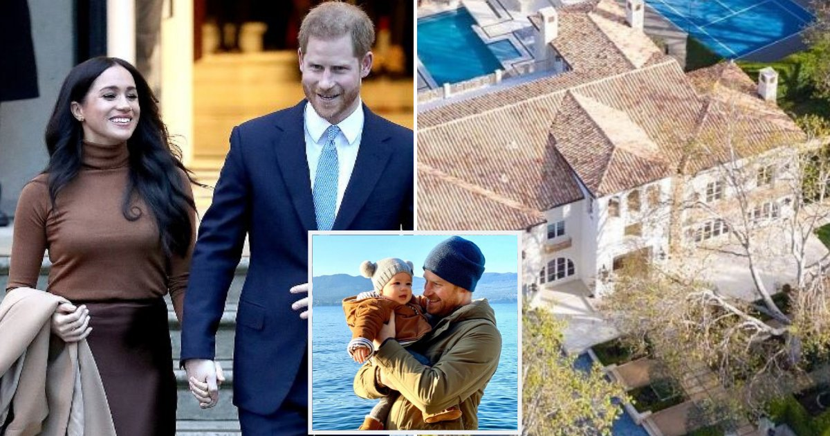mansion6.png?resize=412,232 - Meghan Markle And Prince Harry Are Thinking Of Buying A Malibu Mansion With Tennis Court And A Swimming Pool
