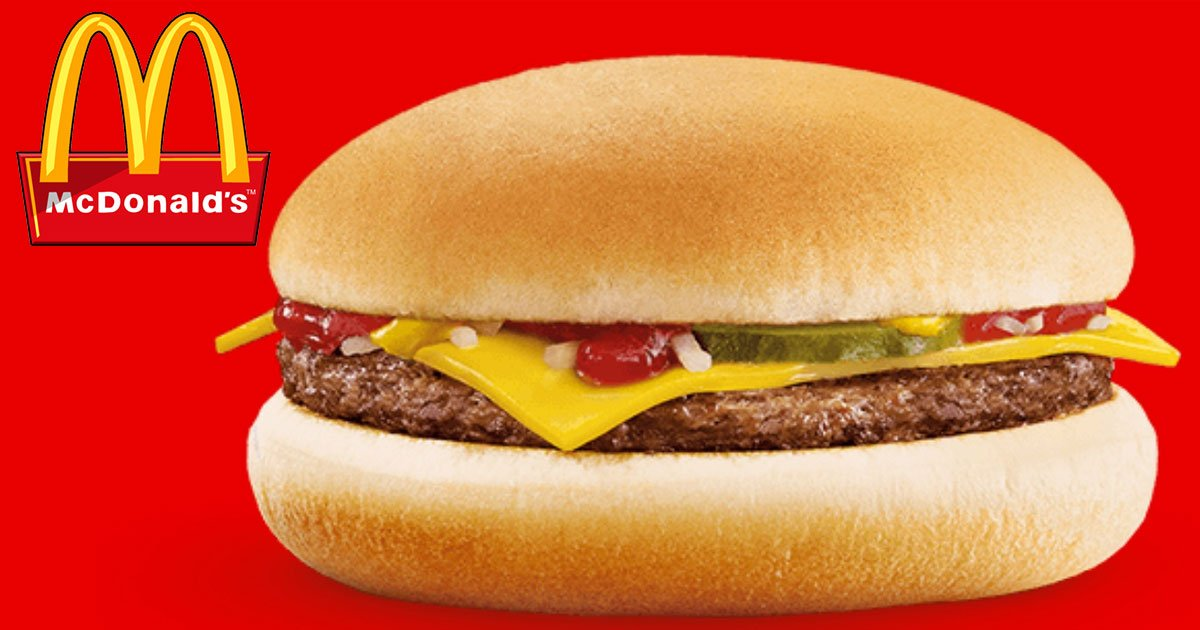 mcdonalds denied allegations about shrinking the size of its cheeseburgers.jpg?resize=412,232 - An Angry Customer Claimed McDonald's Downsized Its Cheeseburger In Australia