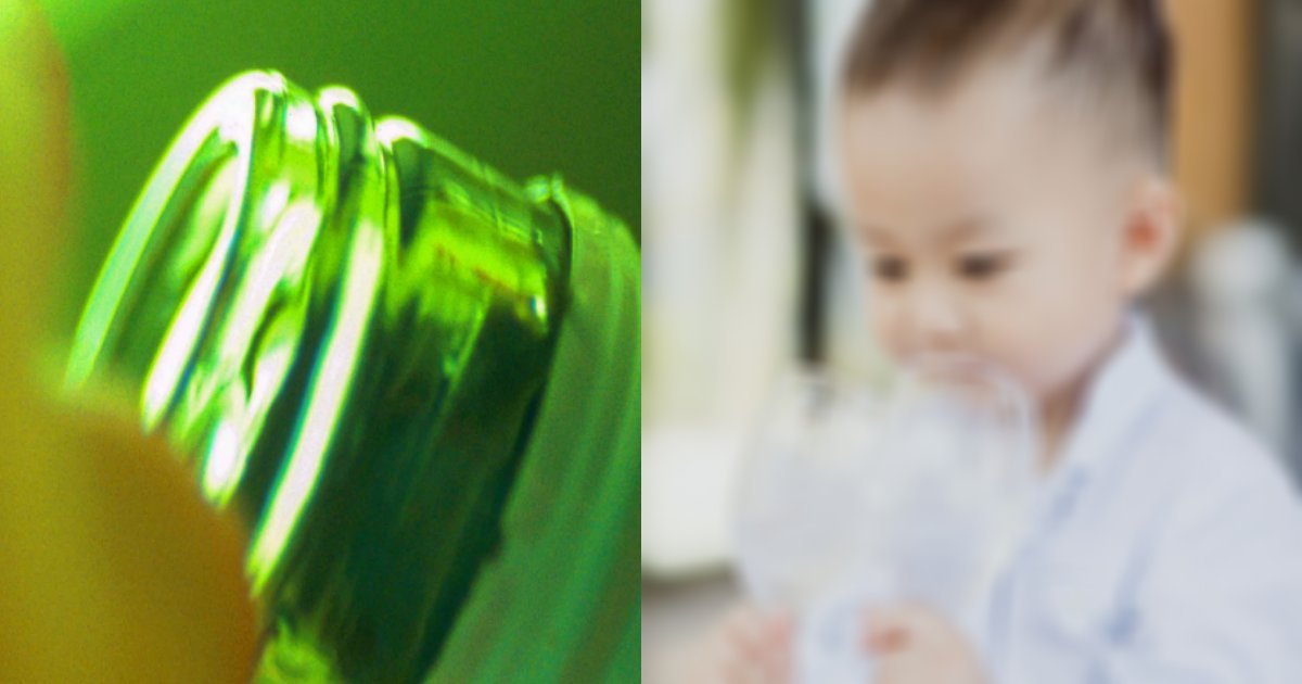nyuji.png?resize=300,169 - 乳児に無理矢理酒を飲ませた不適切動画が大炎上!「娘が酒デビューしました♡」
