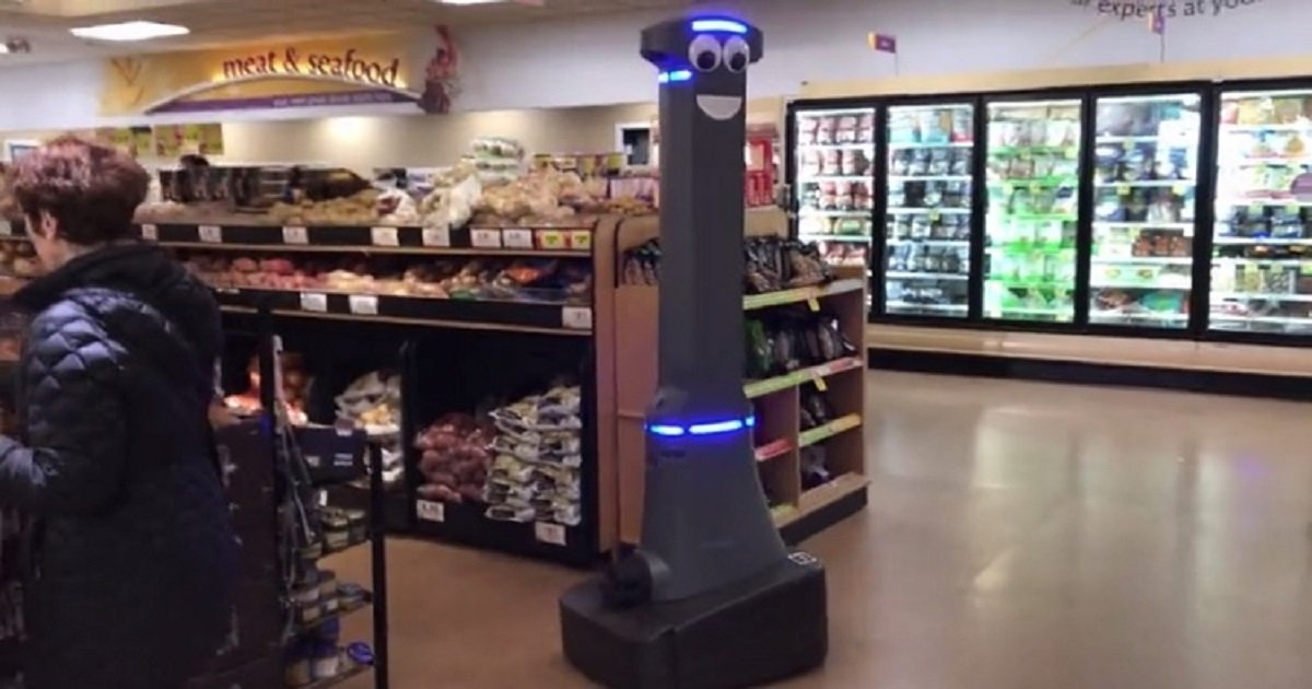 r3 2.jpg?resize=412,232 - A Goofy-Looking Robot Is Actually A High-Tech Security Robot For A Supermarket In New York