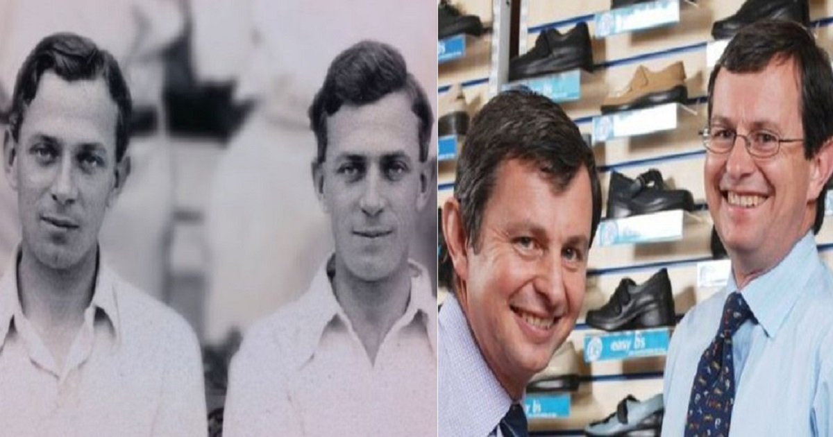 t3 3.jpg?resize=412,232 - 100-Year-Old Shoe Firm Founded By Identical Twin Grandpas Is Now Run By Identical Twin Grandsons