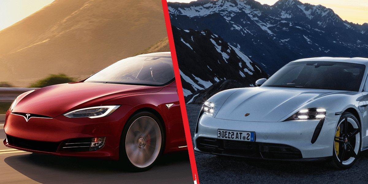 tesla porsche.png?resize=412,232 - Histoire de riches: Elon Musk est déçu que Bill Gates ait choisi une Porsche plutôt qu'une Tesla