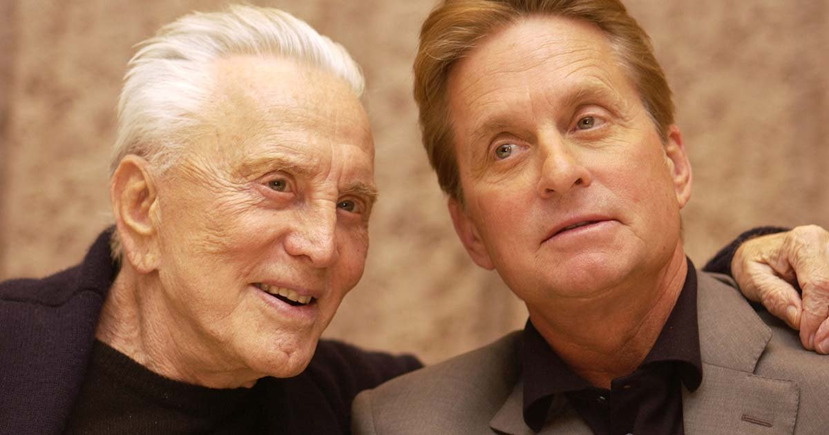 thumbnail 28.jpg?resize=1200,630 - Michael Douglas Will Not Get Even A Single Penny Of His Father Kirk Douglas' $61 Million Fortune