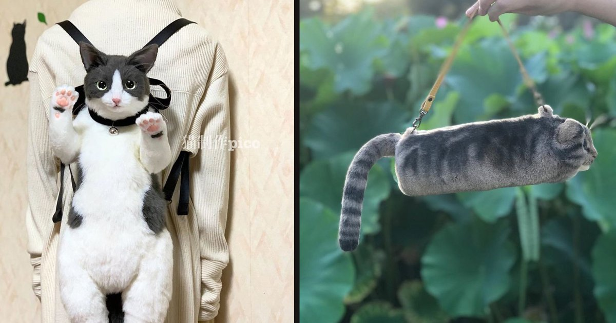 untitled 1 105.jpg?resize=412,232 - Cat Lovers Are Loving These Life-Like Cat Handbags