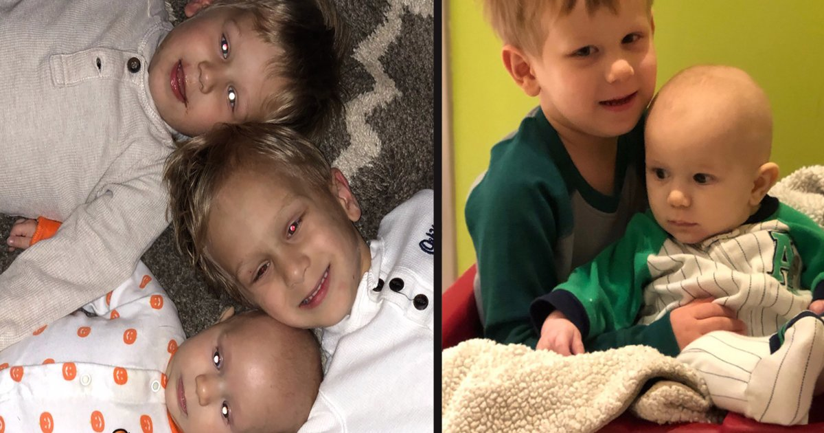 untitled 1 14.jpg?resize=1200,630 - Parents 'Overwhelmed' After All Three Of Their Sons Were Diagnosed With The Same Eye Cancer