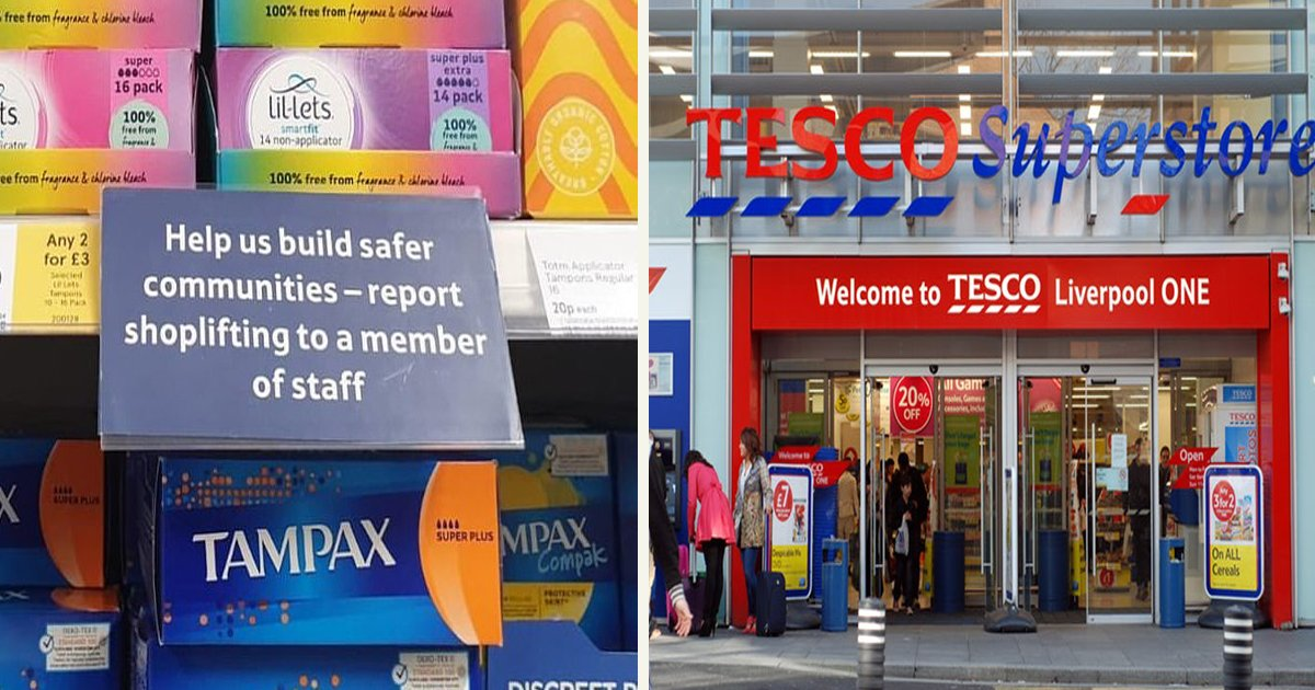 untitled 1 16.jpg?resize=1200,630 - A Grocery Chain Apologized After Being Called Out For Signs Asking People To Report Shoplifters Of Sanitary Products