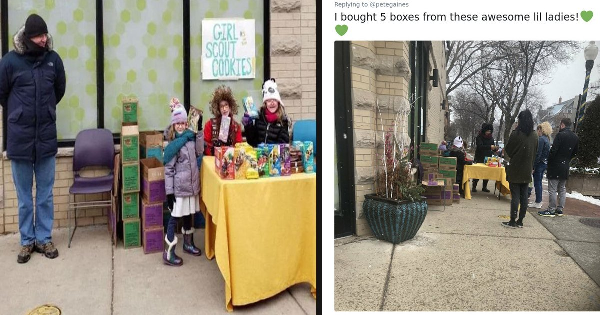 untitled 1 51.jpg?resize=1200,630 - Girl Scouts Sold Hundred Of Cookies After Setting Up A Stall Outside A Cannabis Dispensary In Chicago