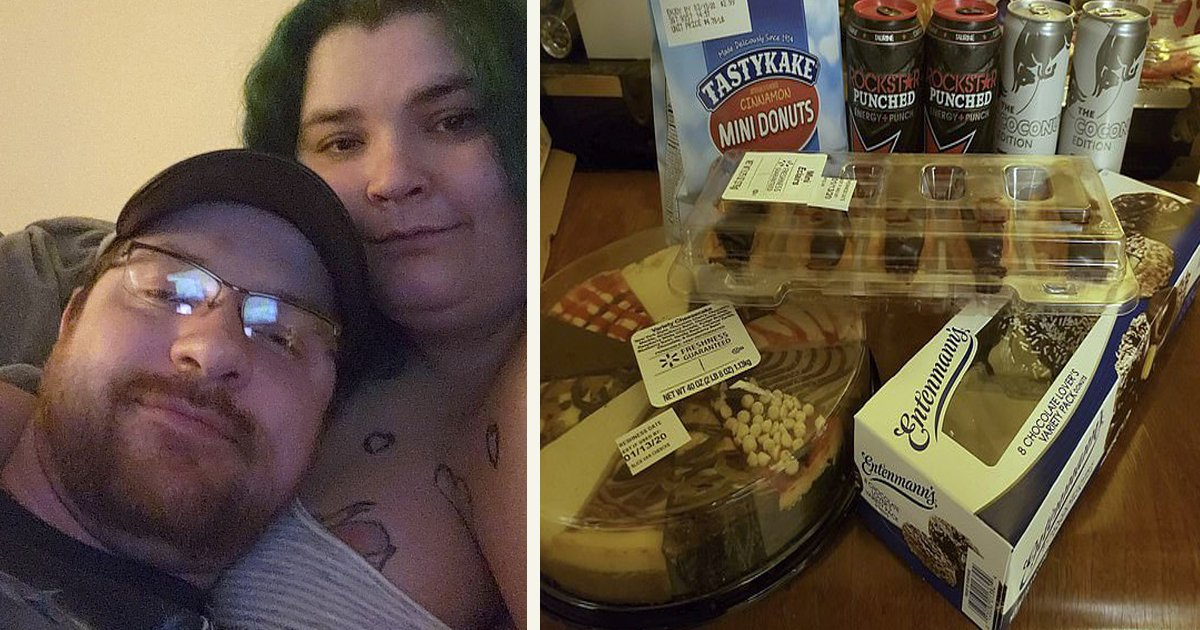 untitled 1 8.jpg?resize=300,169 - Une femme qui pèse 205 kilos a trouvé un fiancé qui la motive à prendre encore plus de poids !