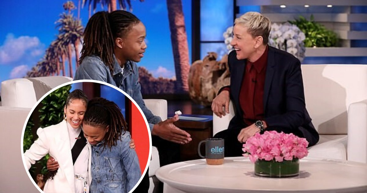 untitled design 12.png?resize=1200,630 - Alicia Keys And Ellen DeGeneres Surprised Teen Who Got Banned From Graduation Because Of His Dreadlocks
