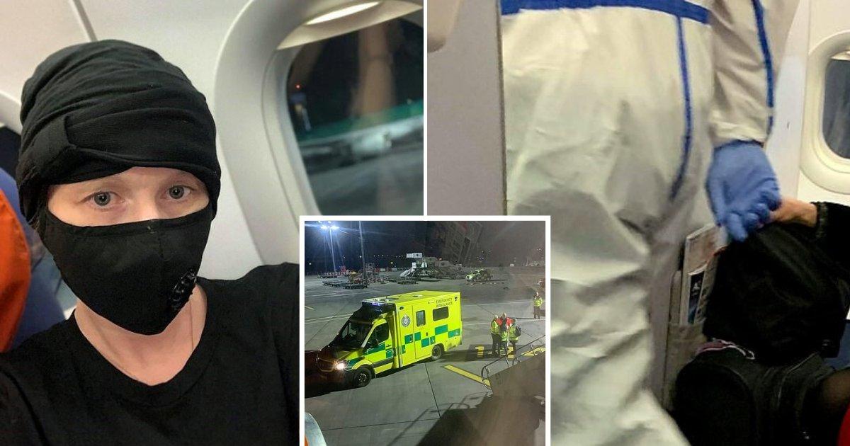 untitled design 19.png?resize=1200,630 - Traveler Revealed How Officials In Hazmat Suits Burst Onto Plane To Remove Suspected Coronavirus Victim