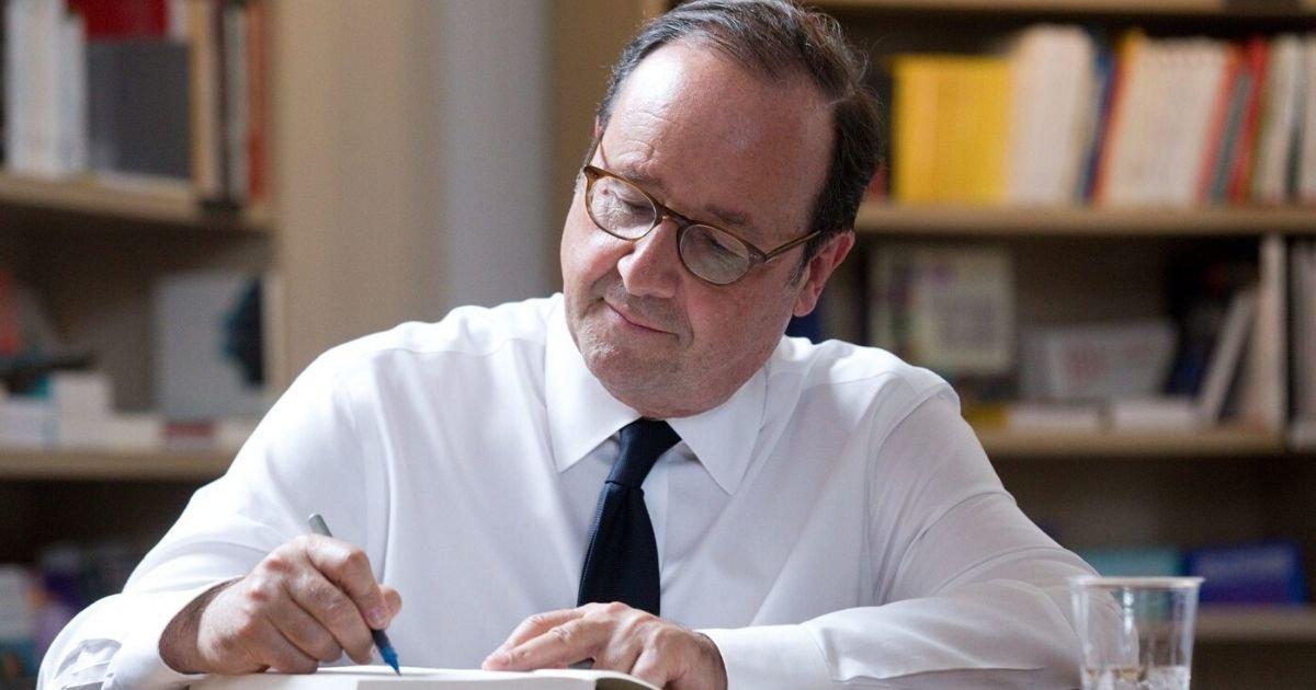 vonjour4.jpg?resize=412,232 - François Hollande a du être exfiltré après une séance de dédicace perturbée
