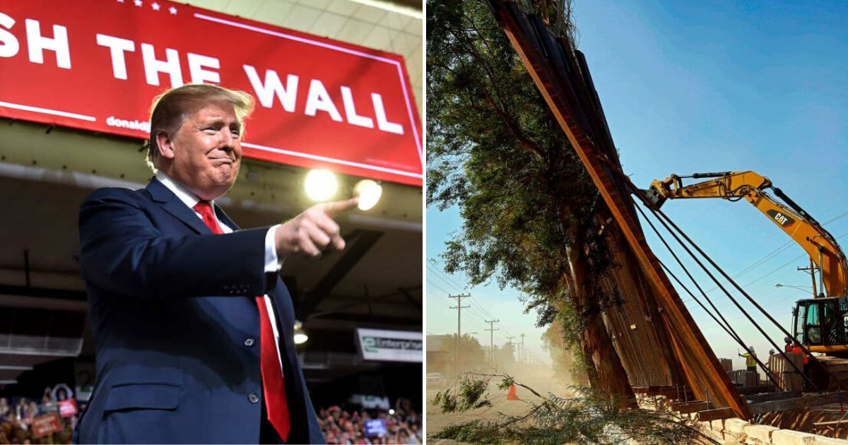 wall6.png?resize=1200,630 - Parts Of Newly Installed Impenetrable Wall Were Blown Over By Strong Gust Of Wind