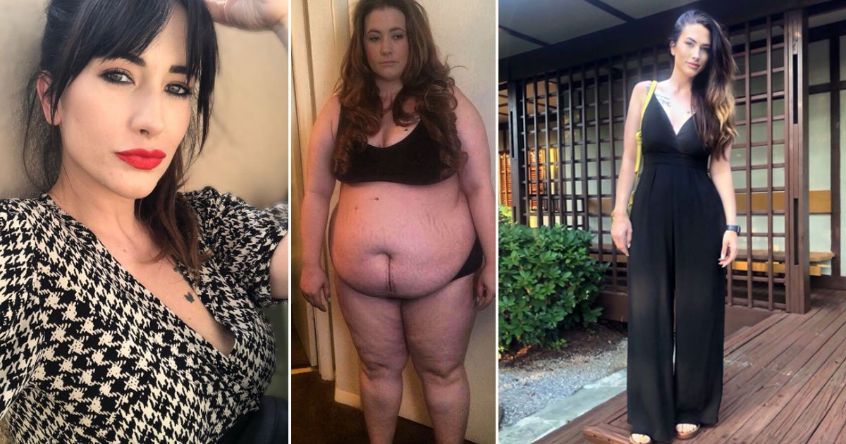 woman incredible transformation.jpg?resize=412,232 - 290lbs Woman Lost Over 140lbs After A Humiliating Incident