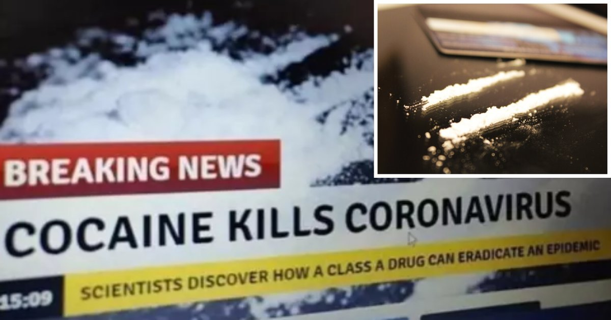 1 28.png?resize=1200,630 - Cocaine is Not the Cure for Coronavirus- French Government Informs its Citizens