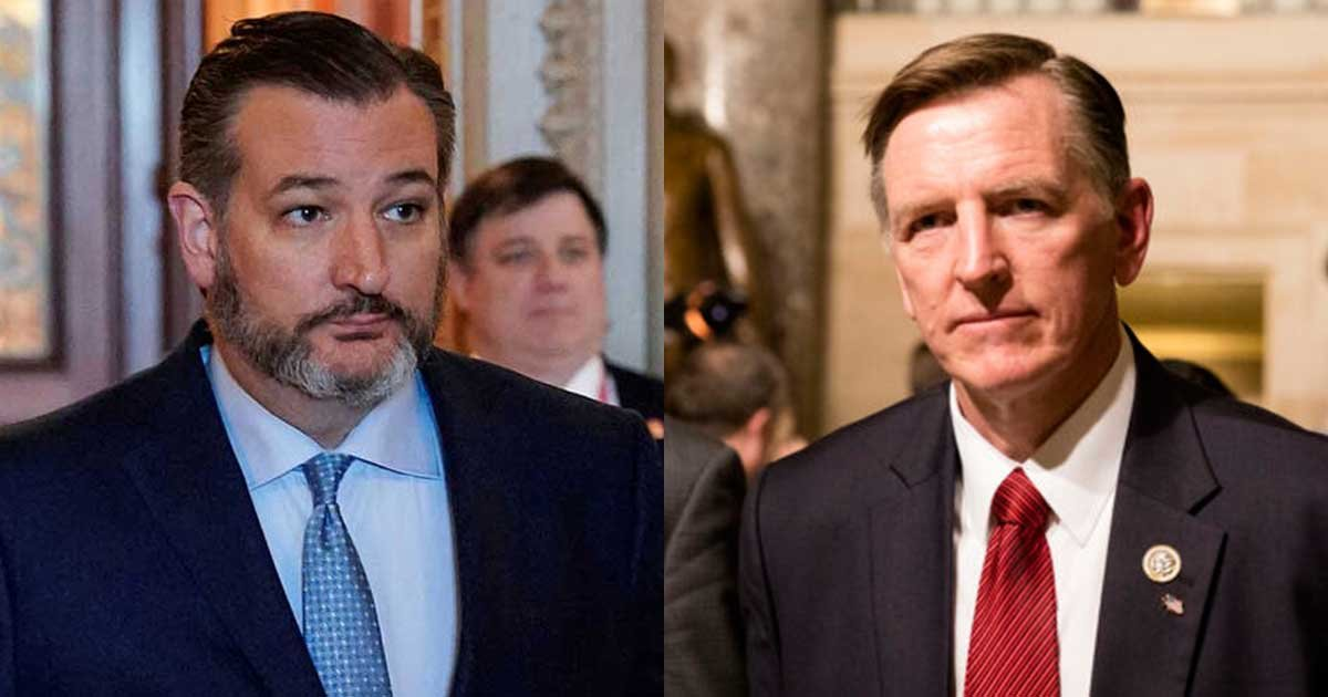 11 31.jpg?resize=1200,630 - Senator Ted Cruz and Representative Paul Gosar To Self-Quarantine After Interacting With COVID-19 Patient