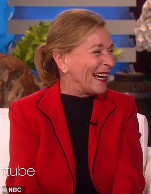 Revitalized: Judge Judy said she was energized to begin the new endeavor