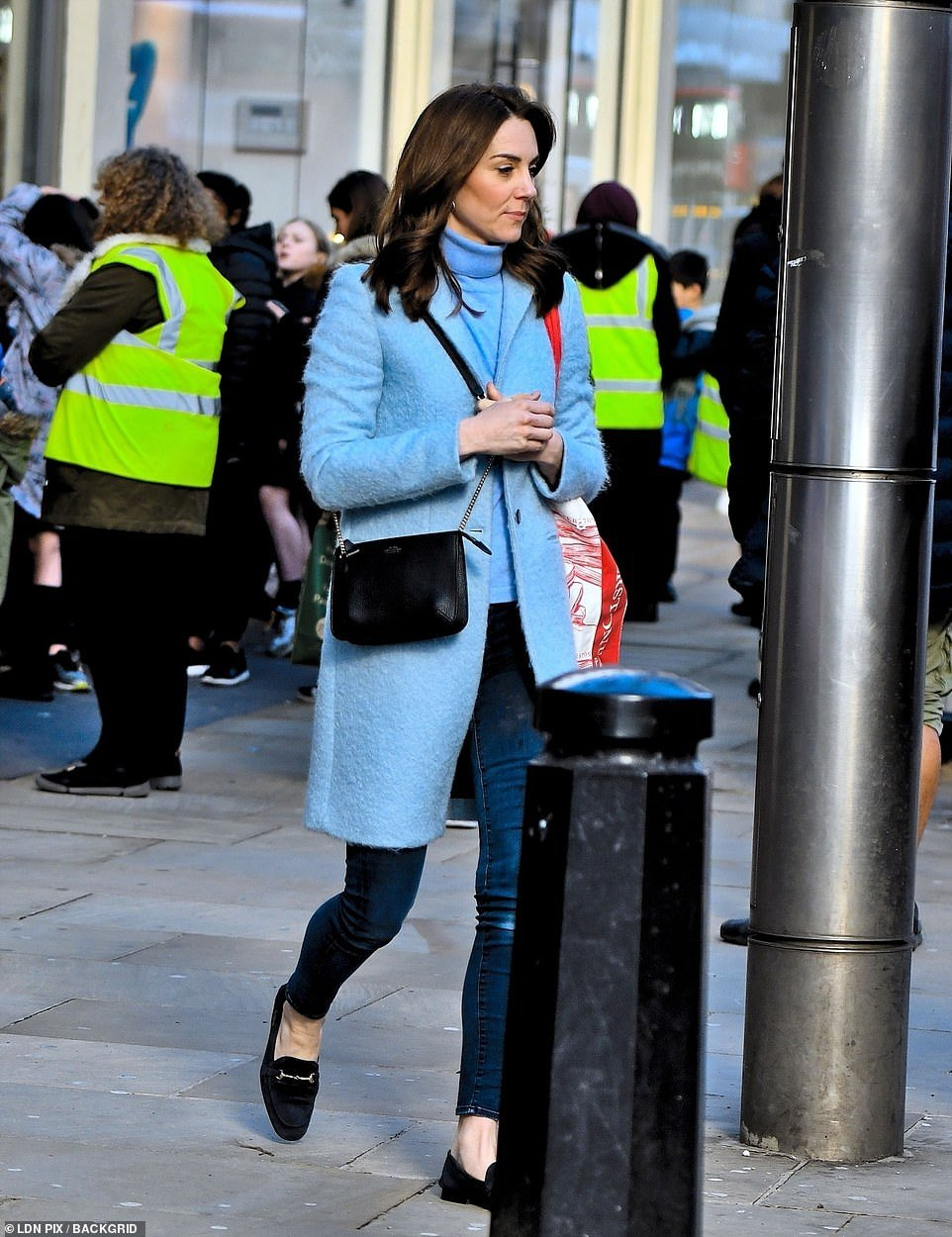 Kate Middleton made her first appearance back in London after returning from her and Prince William
